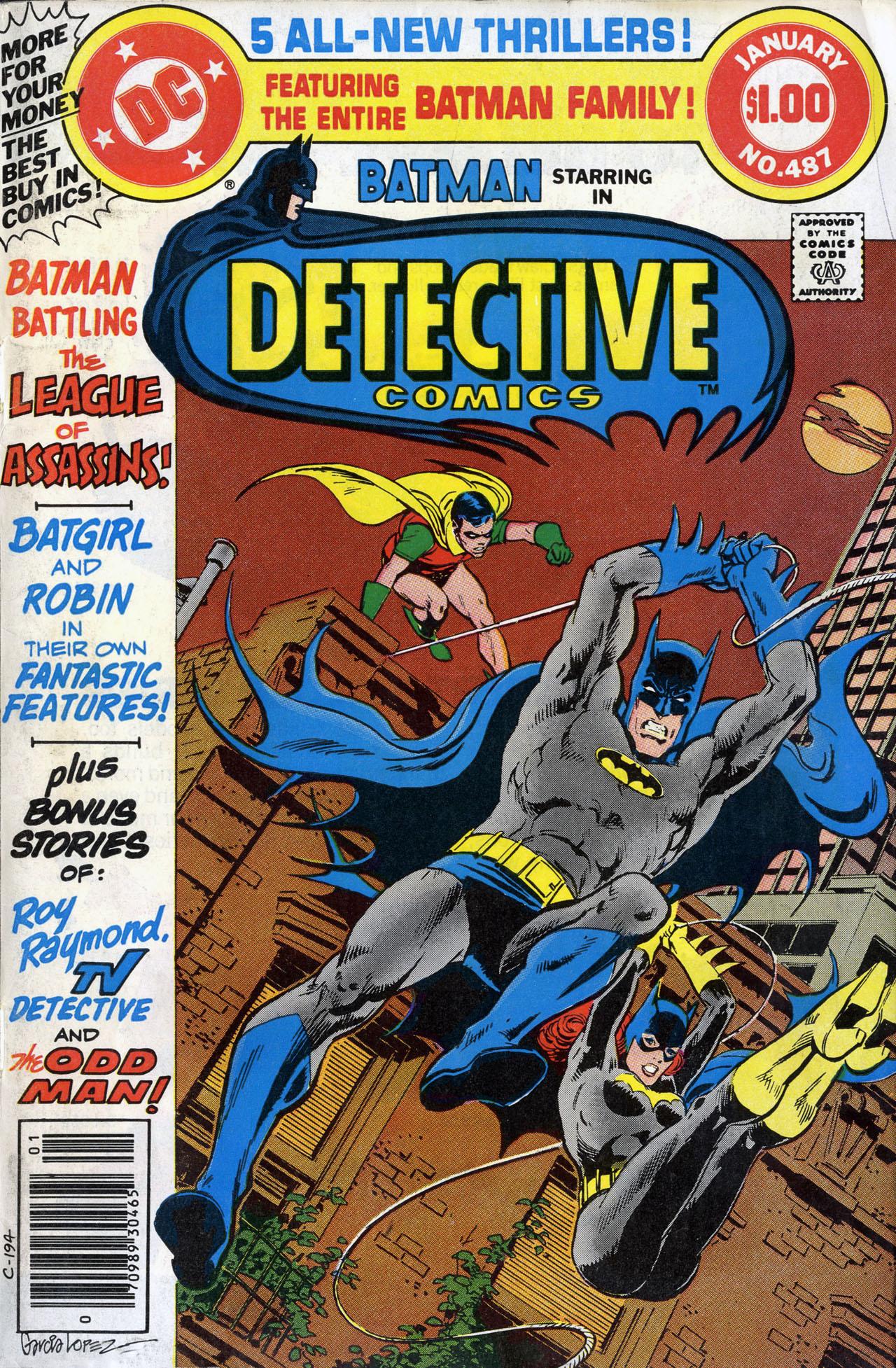 Detective Comics (1937) 487 Page 1