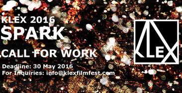 KLEX 2016: Spark - Experimental music and film festival call for submissions