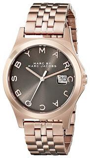 Marc by Marc Jacobs MBM3350 Rose Gold-Tone Bracelet Watch $90 (reg $203)