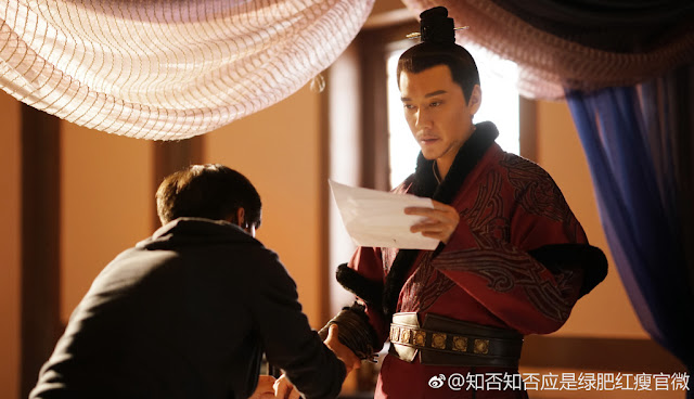 The Story of Ming Lan Feng Shaofeng filming complete