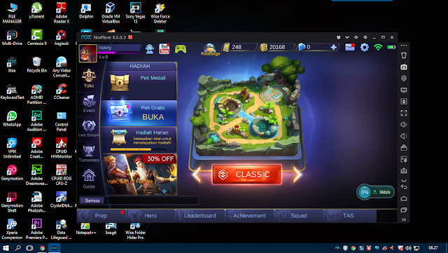 Download emulator android nox player 6.2.6.0