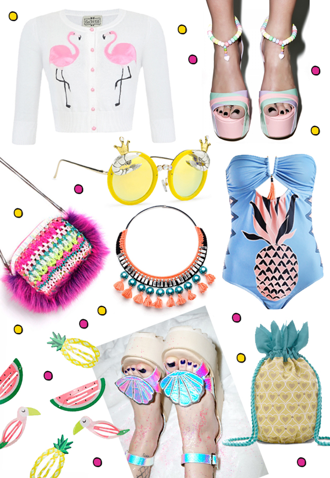 Fashion finds, shopping, pineapples