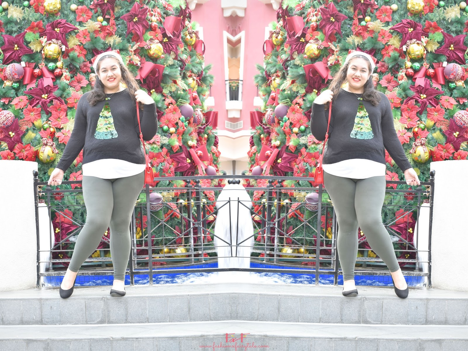 Christmas Tree Pizza | What I Wore