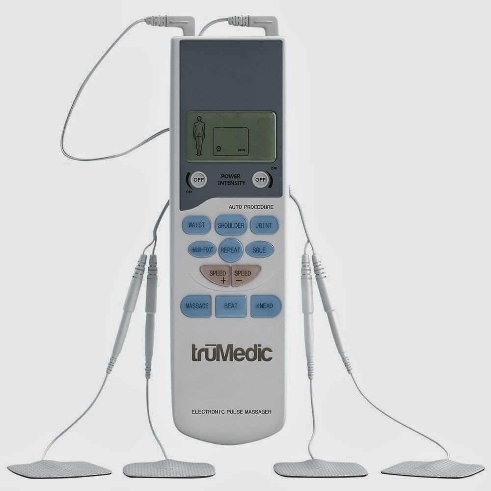 TruMedic PL-009 TENS Electronic Pulse Massager Unit, picture, review features & specifications