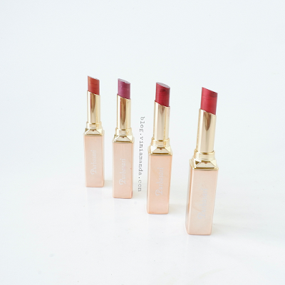 Purbasari Metallic Color Matte Lipstick hydra series all shades review