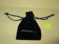 Sack: Morella® Damen Halskette Herz Buchstabe I 925 Silber rhodiniert mit Zirkoniasteinen weiß 46 cm