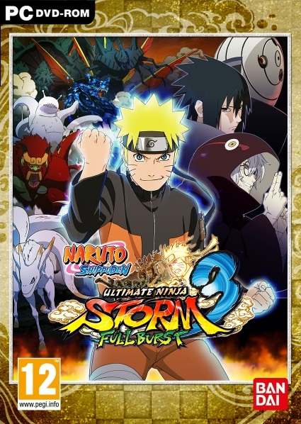 Naruto Shippuden Ultimate Ninja Storm 3 Full Burst PC Portada