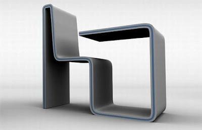 idea rekaan kreatif kerusi dan meja