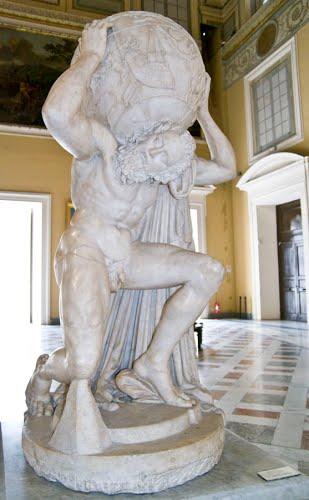 Estátua atlas Farnesio