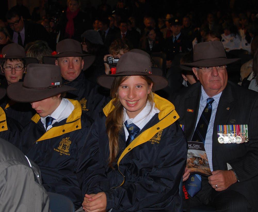 Spirit of ANZAC Tour 2011: 2011