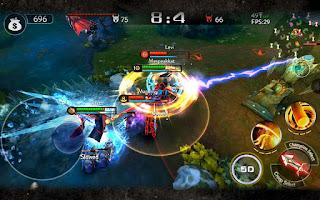 game Moba Android terbaik terpopuler - Ace of Arenas