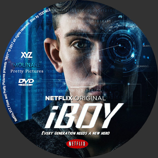 Label DVD iBoy