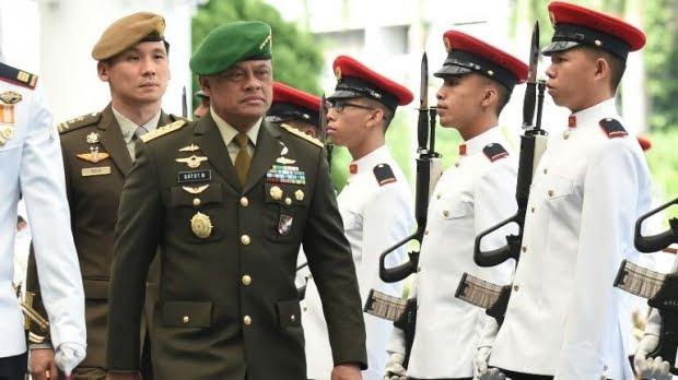 Allahu Akbar, Jenderal Gatot: TNI tak Bisa Dipisahkan dari Kiai dan Santri