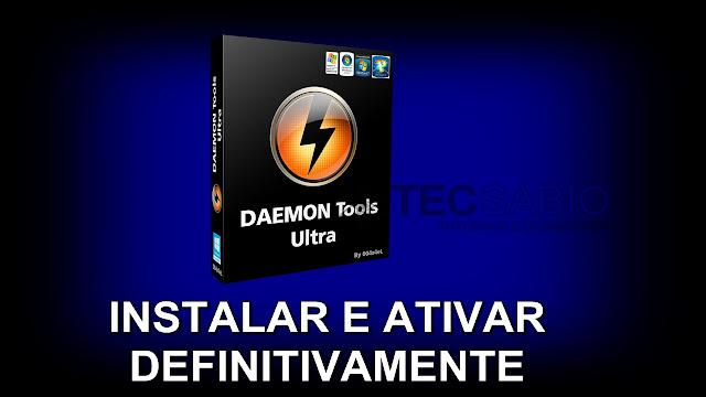 Como Ativar Daemon Tools Ultra Pro Atualizado