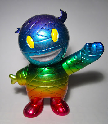 Super7 - Rainbow Custom Mummy Boy Vinyl Figure by D-LuX