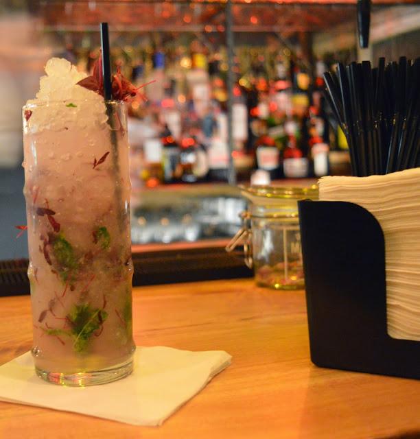 The Botanist signature cocktail, Newcastle