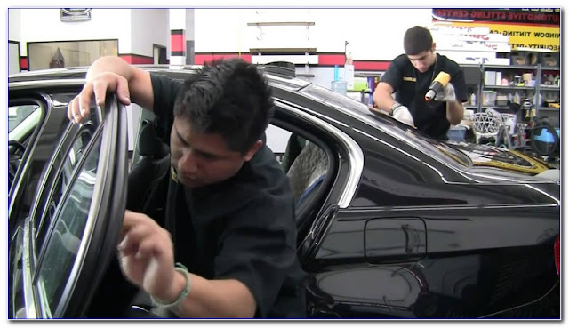 Remove WINDOW TINT Glue From Glass