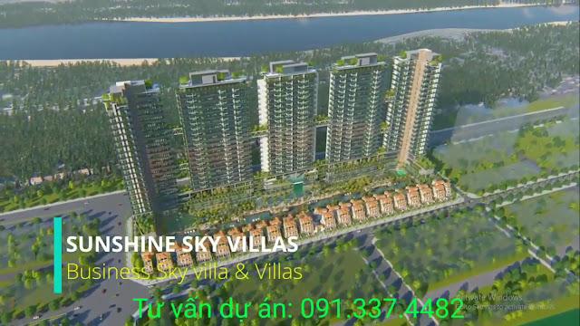 Dự án Sunshine Cystal River Ciputra - biệt thự trên không Sky Villas chủ đầu tư Sunshine Group