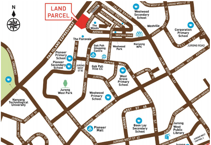 wetswood residences location map