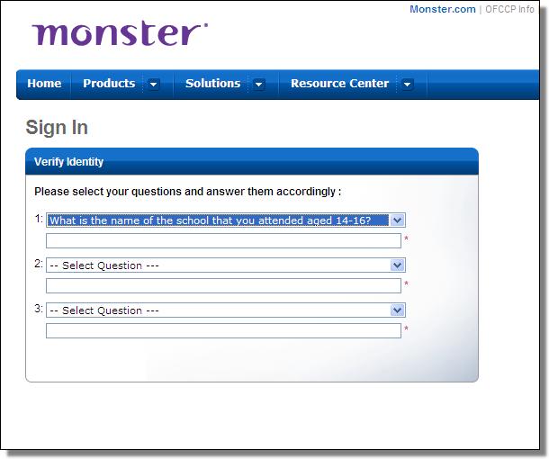 Gameover ZeuS Trojan Targets Users of Monster.com Employment Portal