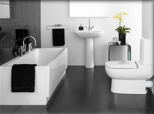 New Home Designs Latest.: Modern Bathroom Designs