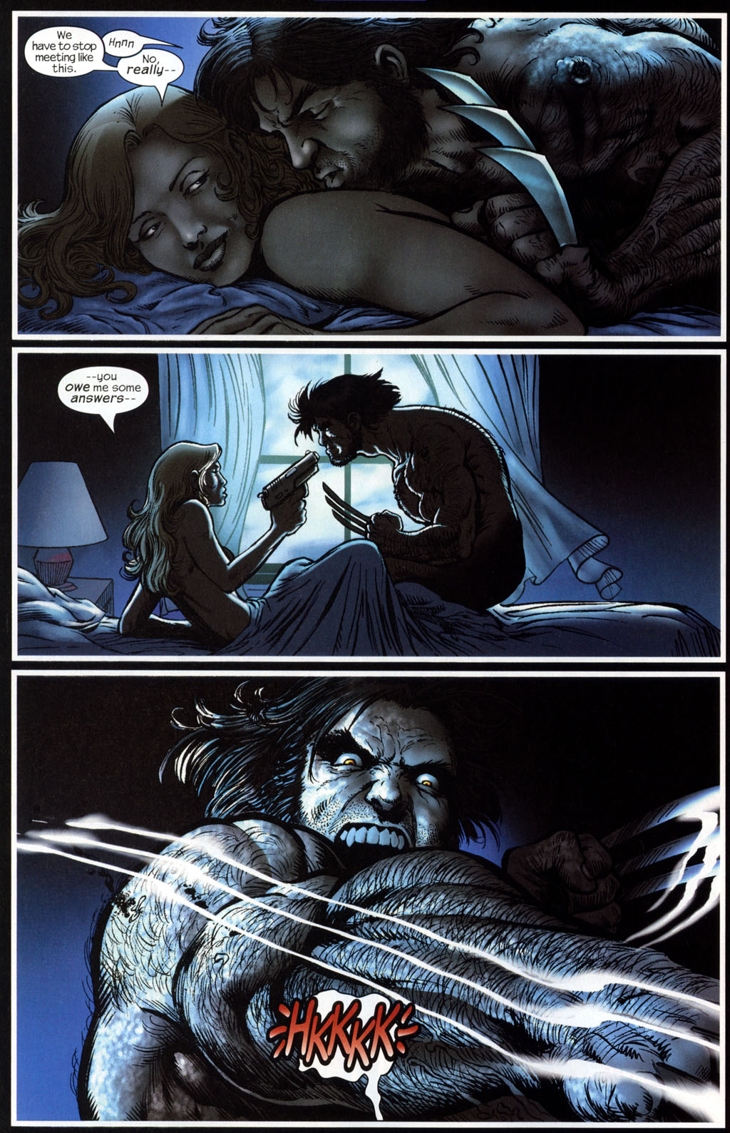 Read online Wolverine (2003) comic -  Issue #6 - 15