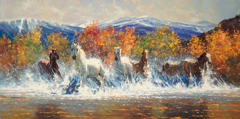 Robert Hagan 1947 | Australian Impressionist painter | Western painting
