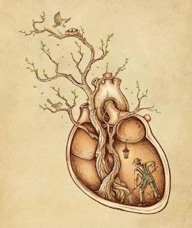 Resultado de imagem para planta enraizada no coração