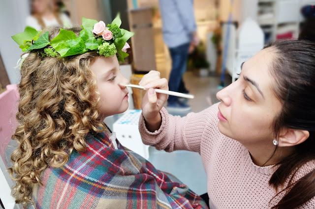 maquillaje para niñas de comunion - la comunion de noa magazine