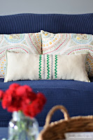 DIY Drop Cloth Pillows