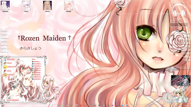 Rozen Maiden - Kirakishou Theme Win 7 by Andrea_37