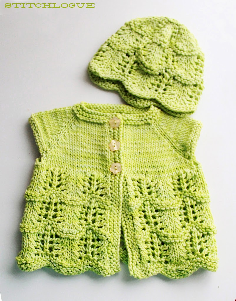 Stitchlogue Blog: handmade by Calista: Free Knitting Pattern: Lilys Cardigan