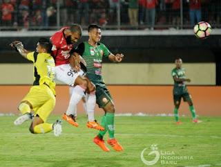 Kalahkan PS TNI, Bali United Jaga Peluang Juara Liga 1 2017