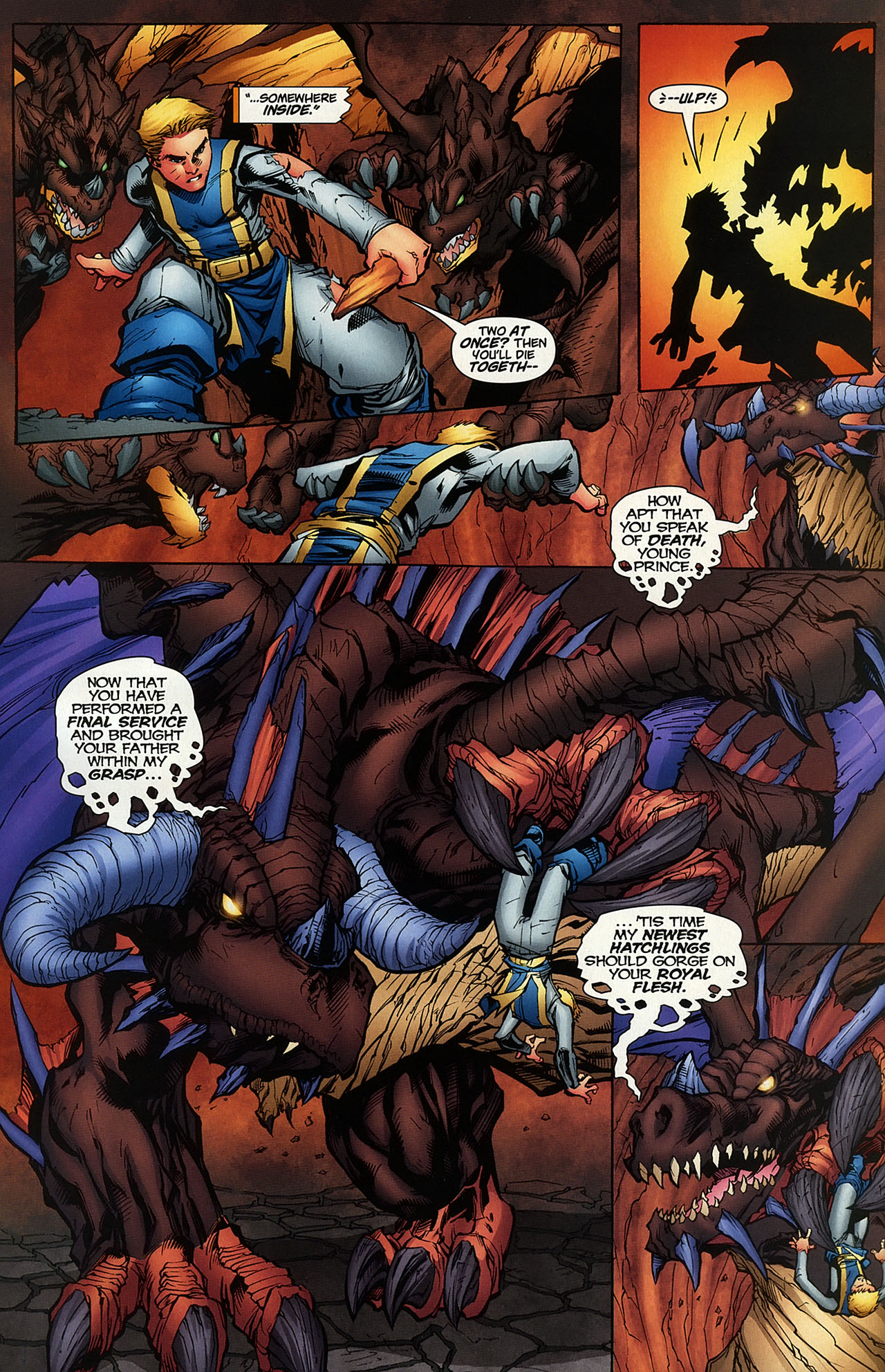 Read online World of Warcraft comic -  Issue #14 - 6