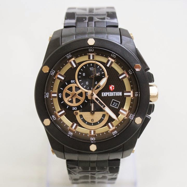 EXPEDITION E6643M Black Gold 47mm 5 Atm