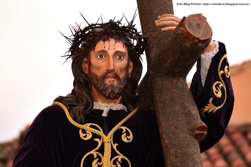 Jesús Nazareno de San Francisco. El Dainos. Foto G. Márquez. 2015. León