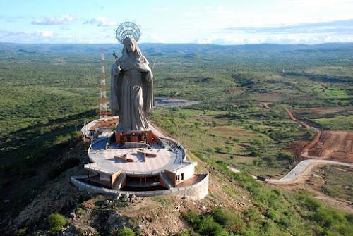 Estátua de Santa Rita de Cássia - Santa Cruz - RN