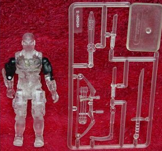 1994 Shadow Ninja Stormshadow, Translucent, Clear, Prototype, Unproduced, Night Creeper, Snake Eyes