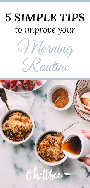 Morning Routine | Learn 5 simple steps that can help you achieve the clarity you need to have a productive day. These tips are perfect.for busy moms, college girls, and girl bosses.  Productive morning routine | clarity of mind | treat yo self #selfcare