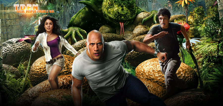 DWAYNE JOHNSON Se Va Întoarce În JOURNEY TO THE CENTER OF THE EARTH 3 Şi 4