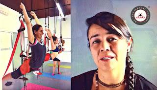 Formacion profesores Yoga Aereo