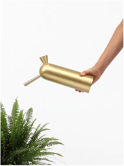 Svante, brass watering can, Klong, Broberg & Ridderstråle