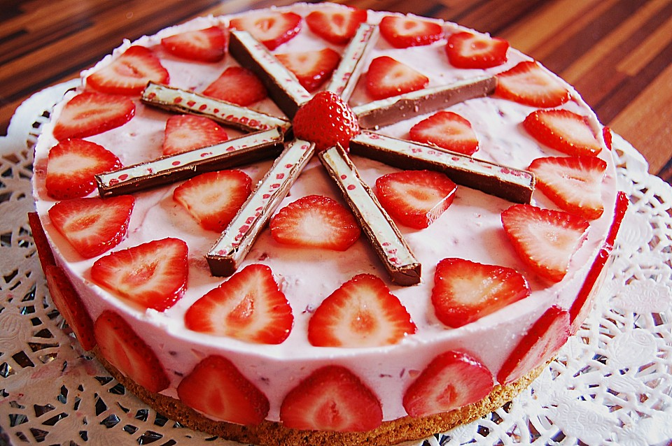 Rezept Yogurette Torte