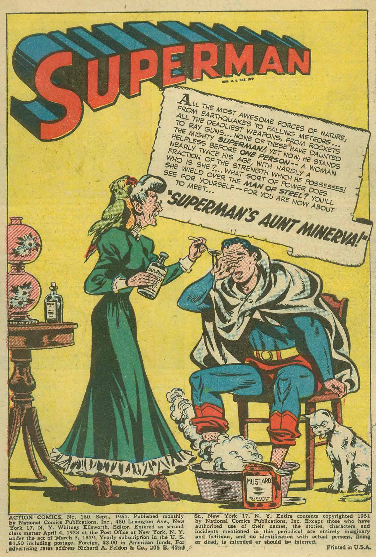 Action Comics (1938) 160 Page 2