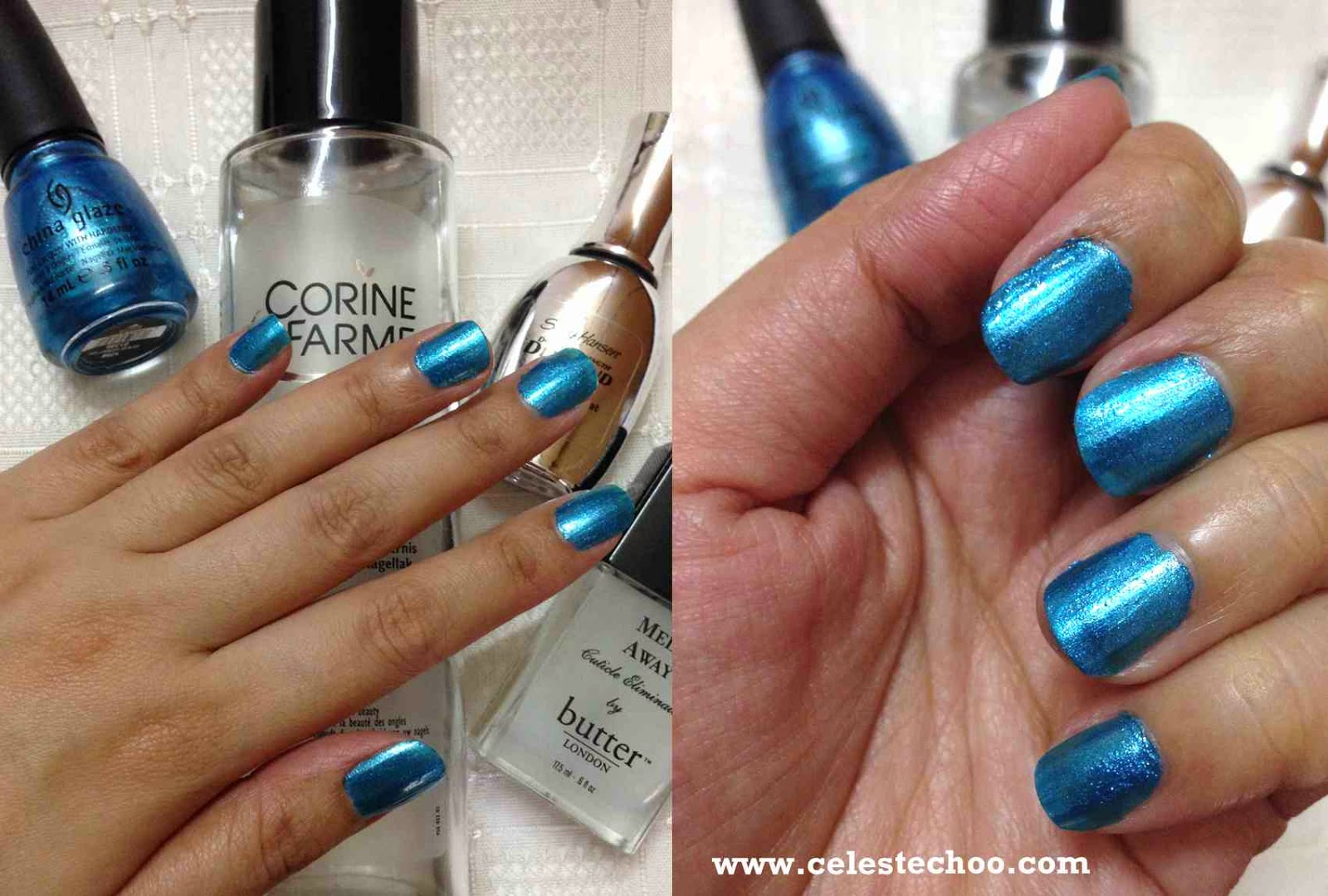 Celestechoo Com China Glaze Nail Polish In So Blue Without You Shade