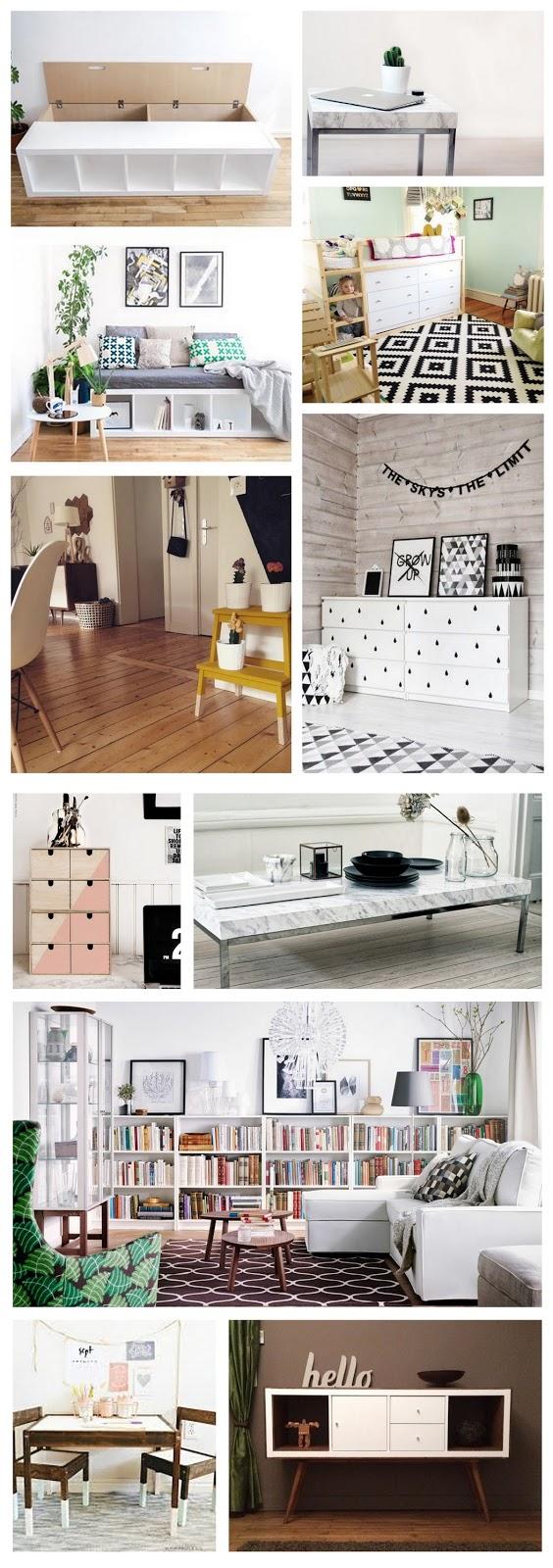 idées de customisation avec des meubles ikea