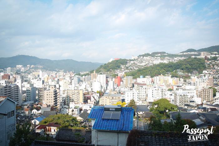 Vue depuis les bottes de Sakamoto Ryoma, Teramachi, Nagasaki