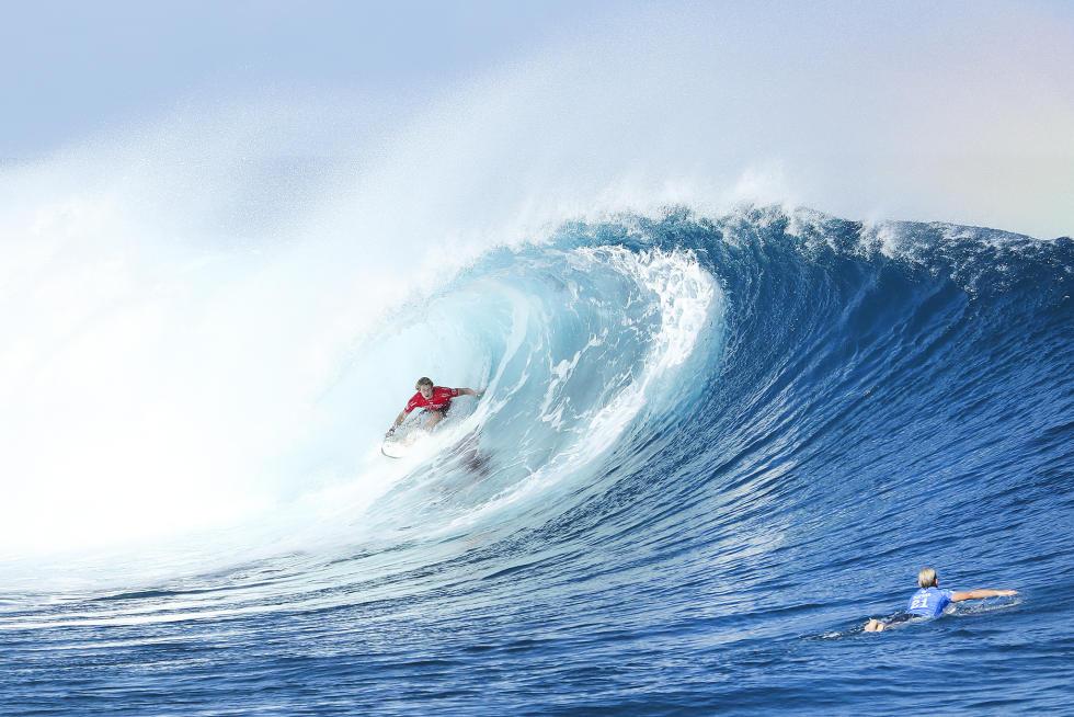 0 John John Florence Fiji Pro Foto WSL Kelly Cestari