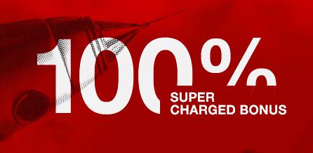 100% Supercharged atau Credit Bonus HOTFOREX