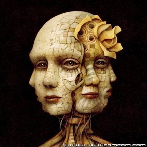 04-Bygone-Thoughts-Naoto-Hattori-Dream-or-Nightmare-Surreal-Paintings-www-designstack-co